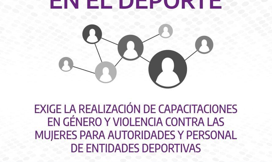"""""""Ley Micaela en el Deporte"""""""