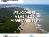 132° Aniversario de la fundación de Miramar