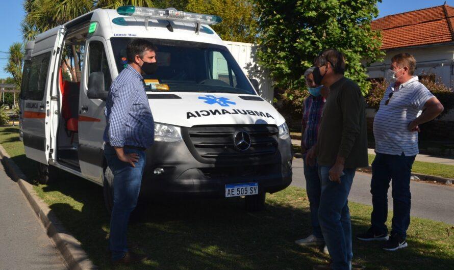 Nueva ambulancia de última generación con fondos municipales